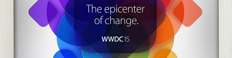 What's the epicenter of change at the Apple WWDC 2015 keynote?