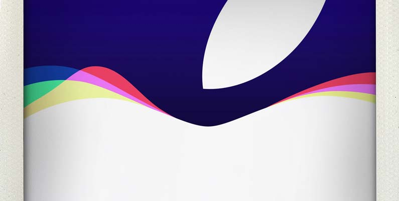 Apple iPhone6s tvOS Event header
